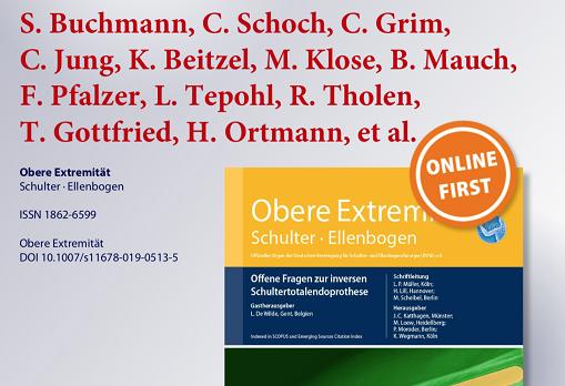 OFZ Orthopädie Dr. Buchmann Obere Extremitäten Nachbehandlung Schulterprothese Schulter-TEP