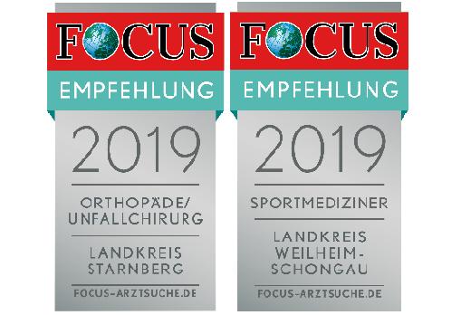 Focus Empfehlungssiegel 2019