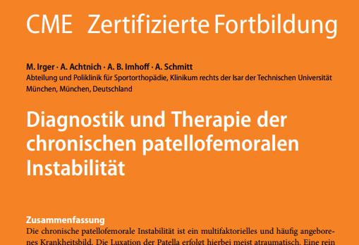 PD Dr. Schmitt OFZ Fortbldung Knie